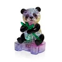 Панда с веткой со светом