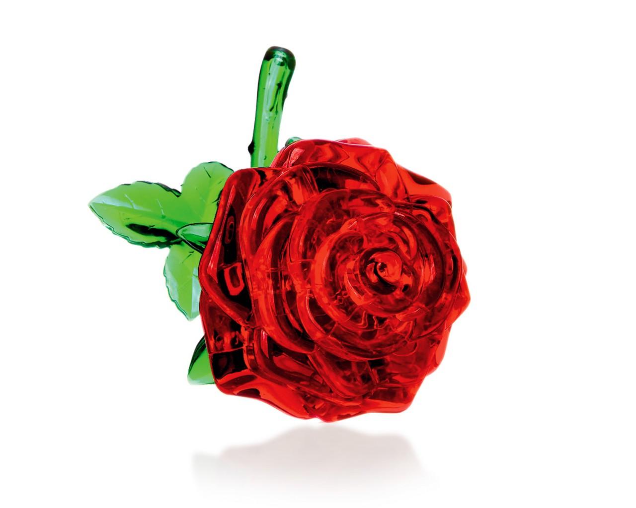 Как собрать 3д пазл роза 22 детали инструкция